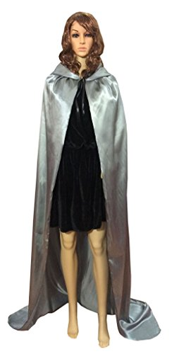 [Shapenty Adult Christmas Halloween Party Devil Death Hooded Cloak Vampire Role Play Costumes Capes (X - Large,] (Devil Halloween Costumes For Women)