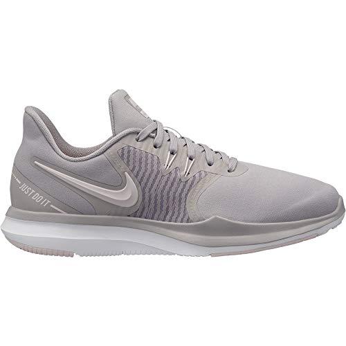Nike Women's in Season TR 8 Cross Training Gunsmoke/White-Atmosphere Grey 7 (Nike Women Tr Shoes)