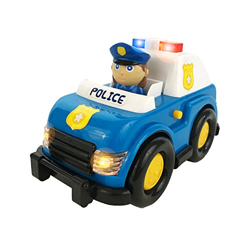 [Boley Light and Sound Police Car Toy - Electric siren with flashing lights - perfect educational toy for toddlers that seek imaginative and pretend] (Home Made Video Game Costumes)