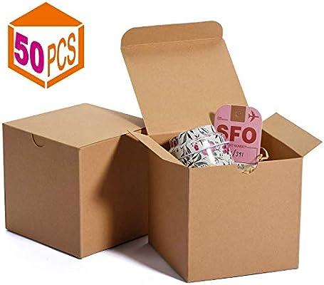 HOUSE DAY Cajas de regalo 10x10x10cm Cajas de regalo de papel ...