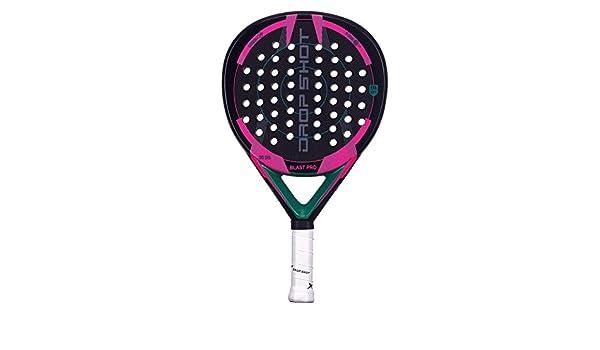 Amazon.com : Drop Shot Blast Pro Padel Tennis Racquet, Unisex Children, Black, 360 - 385 gr : Sports & Outdoors