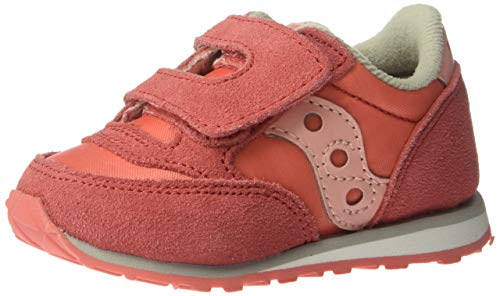 Saucony Girls' Baby Jazz HL Sneaker, Pink, 11 M US Toddler (Saucony Kid Little)