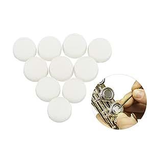 ammoon 10 Piezas Caucho Blando Tapones de Llave de Flauta Cubiertas de Enchufe de Agujero Abierto Reparación de Flautas Partes y Accesorios: Amazon.es: ...