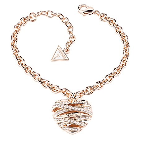 GUESS Rhodium Gold Plated Bracelet UBB21601-S - Guess Gold Plated Bracelet