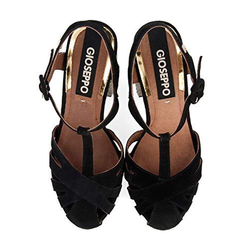 Con Nero 48749 Tacco Col Donna Gioseppo T Negro Scarpe A Cinturino negro dqISSz