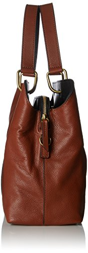 Secchiello nbsp; Fossil Donna Damentasche A brown Satchel Marrone Borse Lane p1xwq