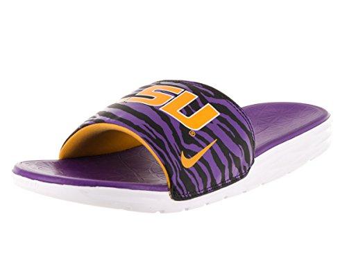 Nike Air Force 1 Ps Små Barn Svart / Universitet Guld / Domstol Lila