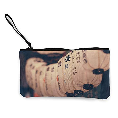 Canvas Coin Purse Home Lantern Cosmetic Makeup Storage Wallet Clutch Purse Pencil Bag ()