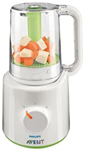 Philips AVENT SCF870/21 Combined Baby Food Steamer and Blender by Philips