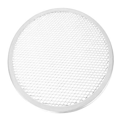 DOITOOL 1 Stks Aluminium Pizza Pan Netto Pizza Bakken Pan Netto Pizza Pan Dikken Pizza Baknet voor Thuis Keuken…