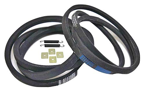 Replacement Washer Belt (Maytag Washer Belt Pump & Drive Set Kit, 211124-25K, 211125 & 211124, 6 2111240 & 6 2111250, AP4011179 & PS2005284 Exact Replacement Part)