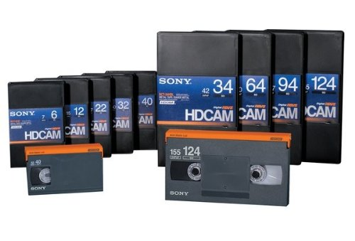 Sony BCT32HD HDCAM 32 Minute Video Tape, Small by Sony