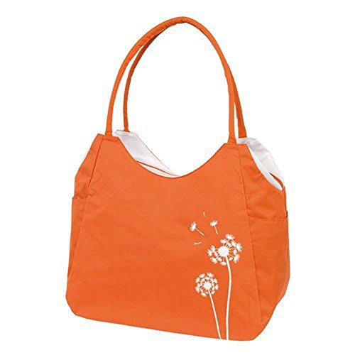 une-Bag - Bolso de tela para mujer naranja