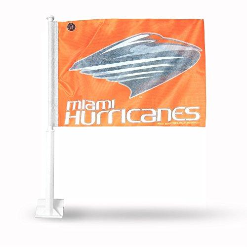 - Rico Industries NCAA Miami Hurricanes Car Flag