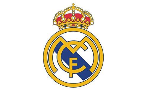 Real Madrid C.F. Club De Futbol Spanish Football Logo Edible Cake Topper Image ABPID06694 - 1/8 sheet