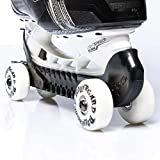 RollerGard Ice Skate Guards, One Size Fits All, Black