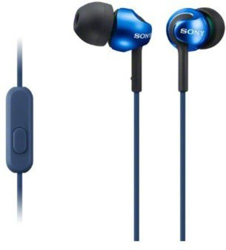 Sony MDREX110AP Step-Up EX Series Earbud Headset (Blue)