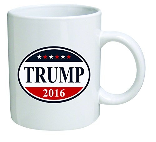 "Funny Mug 11OZ ""Donald Trump 2016"", Presidential novelty and gift, dad, by Yates And Franco"