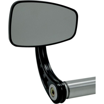 Joker Machine Cafe Bar End Mirror (Stem C) (Anodized Black)