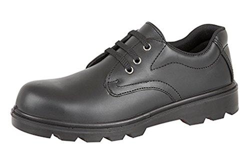 Grafters  Grafters, Herren Sicherheitsschuhe schwarz schwarz, Schwarz - schwarz - Größe: 45