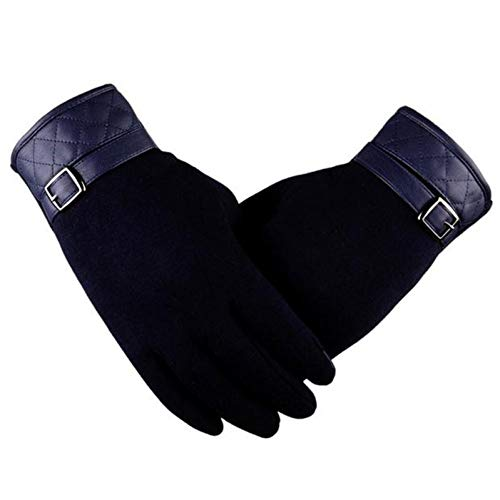 ARMWEQD Winter Gloves Women Gloves Men Thermal Touch Screen Full Finger Mittens Warmer Motorcycle Ski Suitable For…