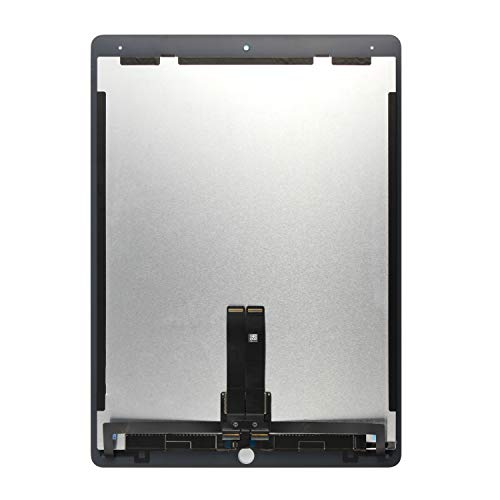 for iPad Pro 12.9 A1670 A1671 A1821 Screen Replacement LCD Display Touch Screen Digitizer + IC Connector PCB Flex Cable Assembly (2017) (White) by SRJTEK (Image #3)