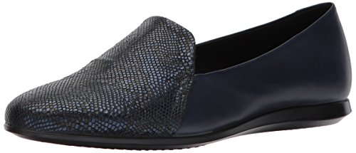 outlet exclusive ECCO Women's Touch Ballerina 2.0 Scale Ballet Flat True Navy/Blue Iris outlet explore outlet locations sale online for sale sale online discount find great FbC4mcO91o