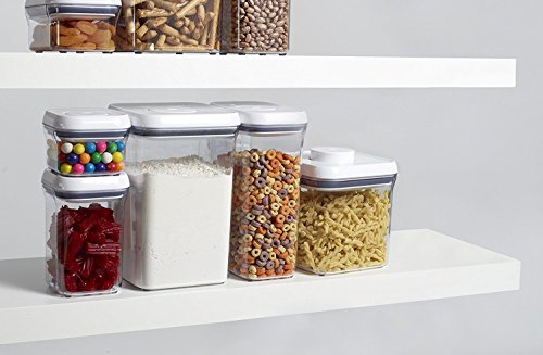 OXO Good Grips POP Square Food Storage Container, Big Square Lid, Medium - 4 Qt