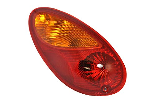 - Driver Side Taillight Tail Light Lamp for 2001-2005 Chrysler PT Cruiser CH2800145 5288743AG - Includes Bulb