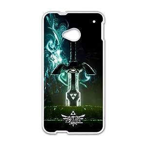 Zelda White HTC M7 case