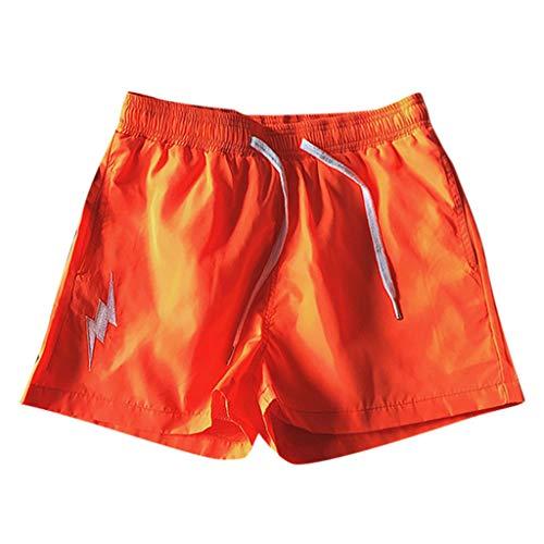 Seaintheson Men's Short Shorts,Summer Fashion Men's Stickers Pocket Tether Elastic Sports Pants Shorts