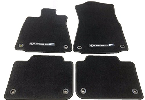 Y 4pc CARPET FLOOR MAT SET 2016-2018 GS-F GSF ( BLACK ) (Factory Oem Carpet)