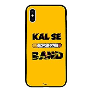 iPhone XS Max / 10s Max Case Cover Kal Se Sutta Band Zoot High Quality Design Phone Covers