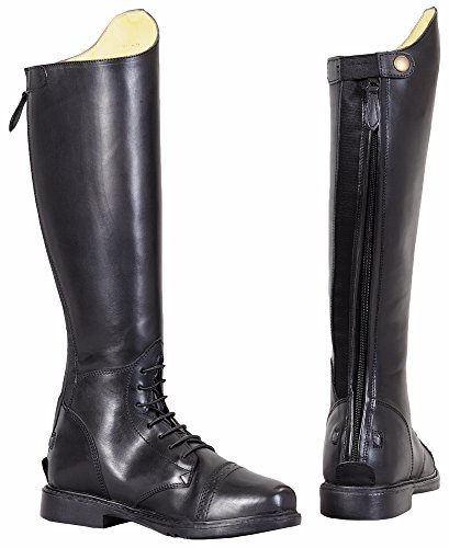 TuffRider Women's Baroque Field Short Boots, Black, 10 Slim by TuffRider