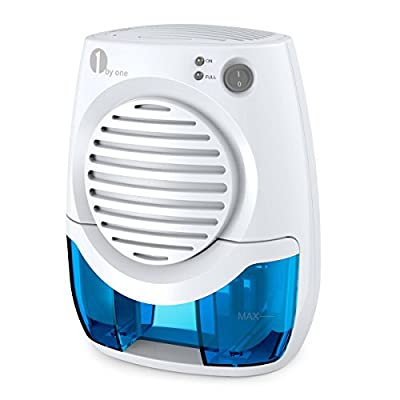 1byone 400ML Powerful Thermo-electric Dehumidifier, White