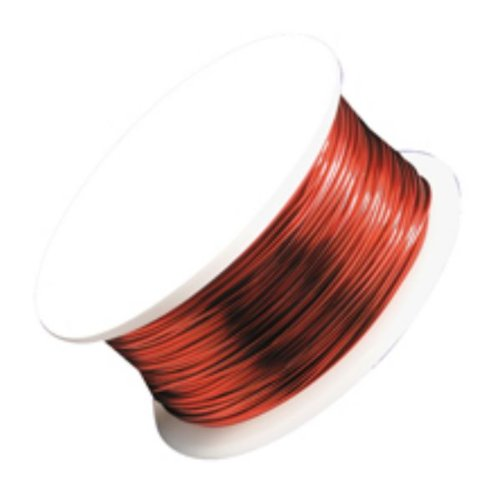 Artistic Wire, Red, 22 Gauge, 15 Yards | -