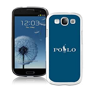 Unique And Fashionable Designed Cover Case For amsung Galaxy S3 I9300 With Lauren Ralph Lauren 18 White Phone Case