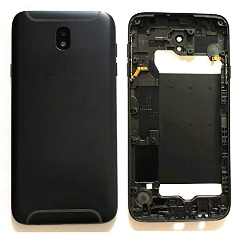 for Samsung Galaxy J730 Back Battery Glass Cover Rear Door Housing Case Replacement for for Samsung Galaxy J7 Pro SM-J730G/DS SM-J730 / Galaxy J7 2017 Duos 5.5