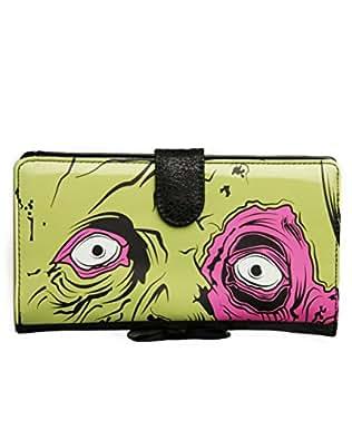 Iron Fist Green Dead Broke Zombie Chomper Vegan Wallet
