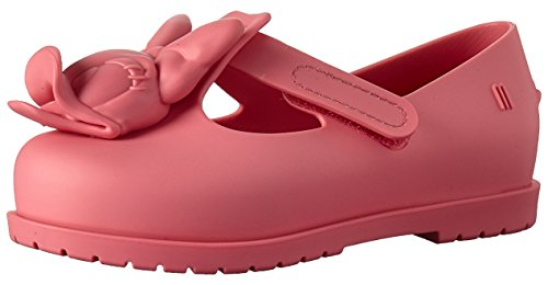 Mini Melissa Girls' Mini Classic Baby + Mickey and Friends Mary Jane Flat, Pink Flush, 8 Medium US Toddler ()