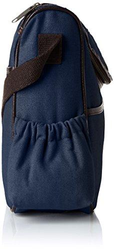 Canvas bandoulière sac Wickeltasche Bags4Less navyblau Blau 4w7RqBn8