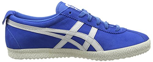 Blue Delegation 4201 Tiger Sneakers Adulte blue Basses Mexico Onitsuka Bleu Unisexe white fR7x8w