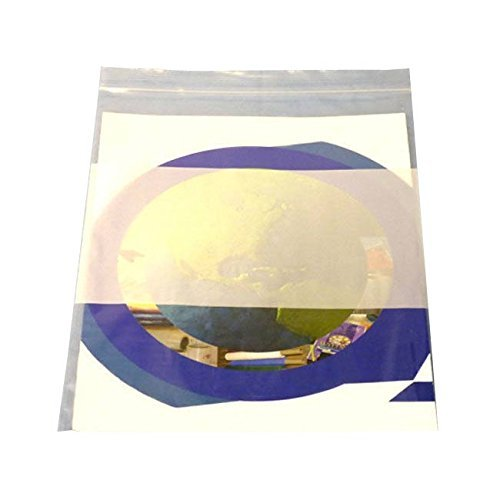 "3"" x 5"" 2 Mil Re-closable Bag with White Block Zipper Plastic Bags, 3x5 1000 Pack"