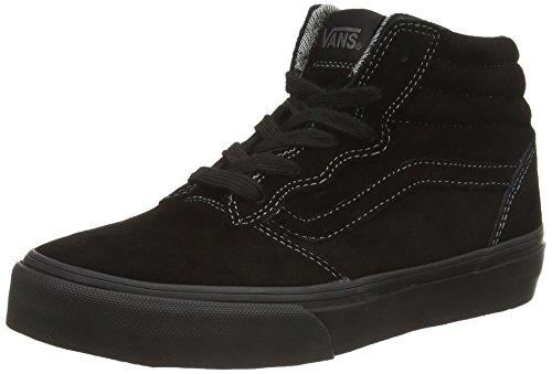 Vans Y Milton Hi Mte - Zapatillas altas Unisex Niños Negro (mte black/black)