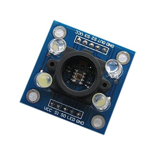 Wildlead TCS3200/farberkennung Sensor Detector M/ódulo de 3/V 5/V para MCU Arduino