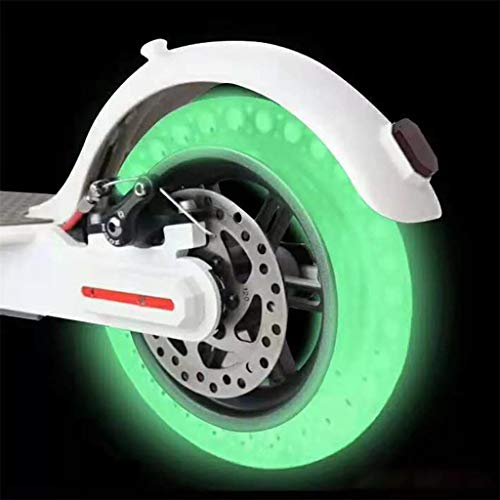 Price comparison product image Honeycomb Rubber Fluorescent Solid Tubeless Tyre - Replacement Tire for Xiaomi M365 Electric Scooter Wheel