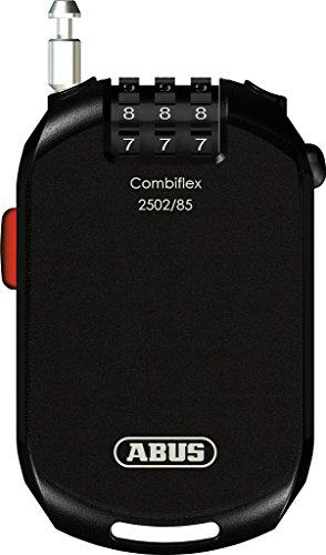 Abus Combiflex Pro 2502 Kabelschloss, Black, 85 cm