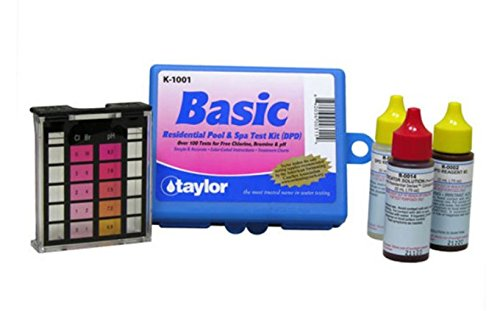 Taylor K-1001 DPD Complete Basic Residential Swimming Pool Spa 3 Way Test Kit