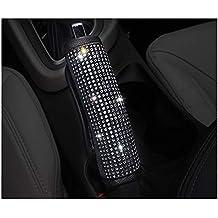 LuckySHD Crystal Car Handbrake Cover Car Accessories Case