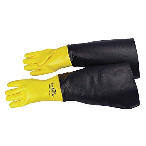 """Skat Blast Sandblast Cabinet Gloves for Skat Blast Sandblasting Cabinets, 23""""-24""""L - 1 pair, 6050-00"""